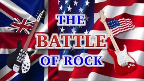 La Batalla del Rock USA vs UK