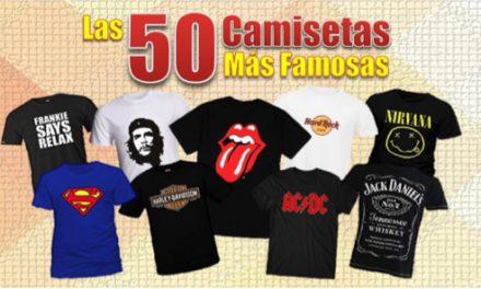 Las 50 camisetas más famosas de la historia