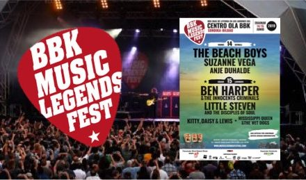Nuevas Confirmaciones BBK Music Legends Festival 2019