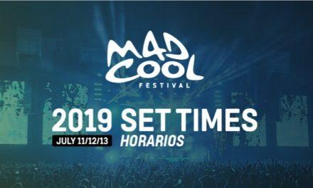 Horarios del Mad Cool 2019