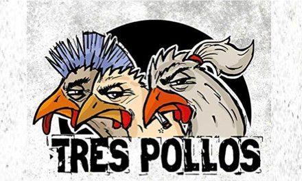 Tres Pollos le cantan al 'Malavida Bar'