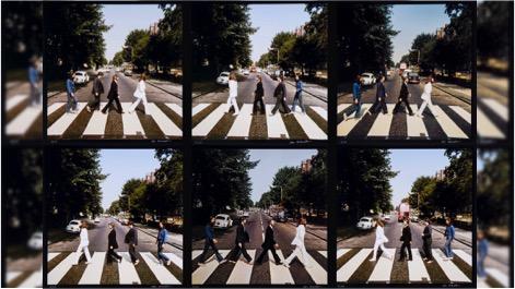 The Beatles y la foto de la portada de Abbey Road