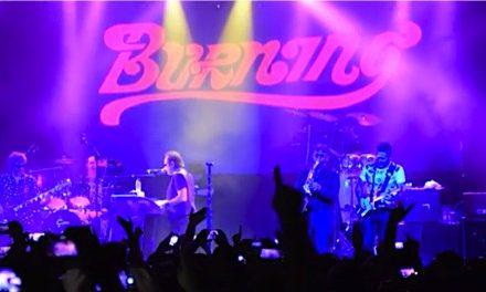 Yo estuve en el último concierto de los Burning