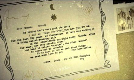 Coldplay y su misteriosa carta de 1919