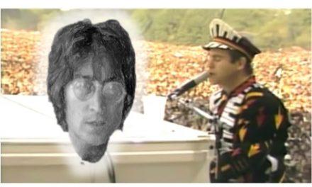 Elton John cambió la letra a Imagine de John Lennon