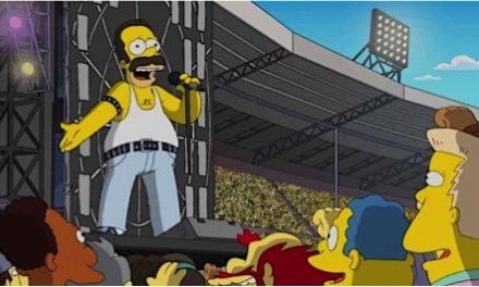 Los Simpson recrean a Queen en Wembley