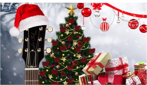 Al rock también le gusta la Navidad