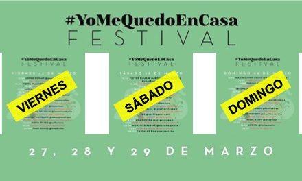 #YoMeQuedoEnCasa Festival 3