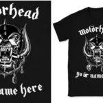 Motörhead: Pon tu nombre en su camiseta