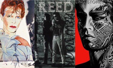 David Bowie, Lou Reed y Rolling Stones en los 80