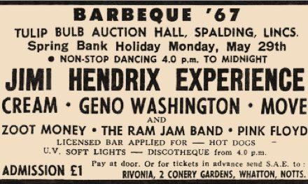 BAR-B-Q '67 de Spalding | El primer Festival de Rock