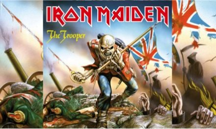 Iron Maiden lanzó 'The Trooper' en 1983
