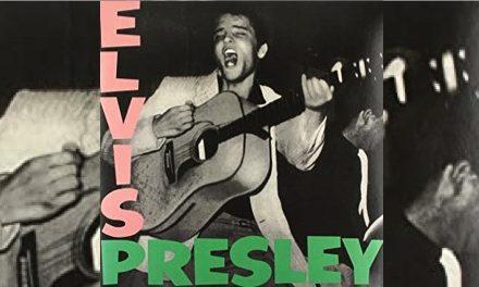 La portada del primer disco de Elvis Presley