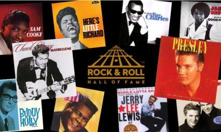 Los primeros del Salón de la Fama del Rock