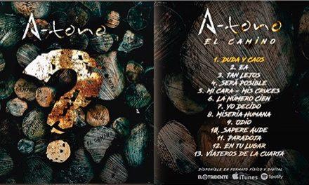 A-TONO presenta su nuevo disco 'El Camino'
