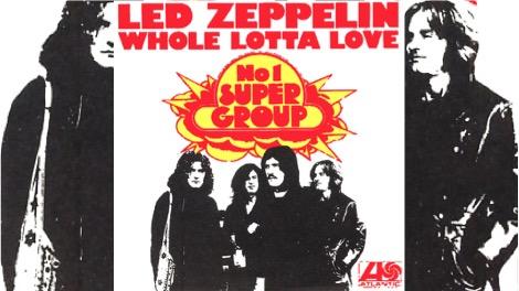 Led Zeppelin y su impresionante 'Whole Lotta Love'