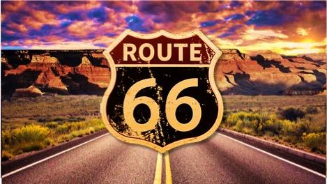 La legendaria Ruta 66