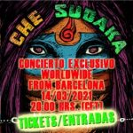 Che Sudaka concierto en streaming