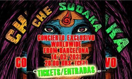 Che Sudaka concierto en streaming