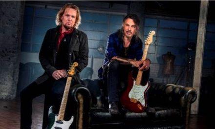 Adrian Smith (Iron Maiden) y Richie Kotzen (Mr. Big y Poison) juntos