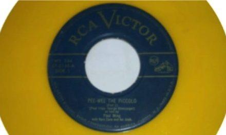 El primer single de la historia 'PeeWee the Piccolo'