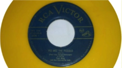 El primer single de la historia 'PeeWee the Piccolo'